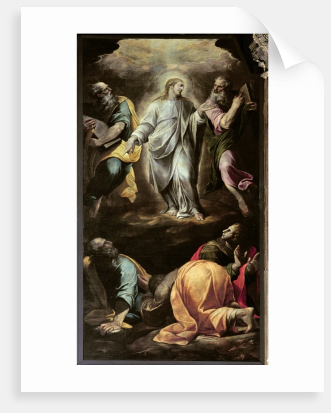 The Transfiguration of Christ from the organ by Italian School