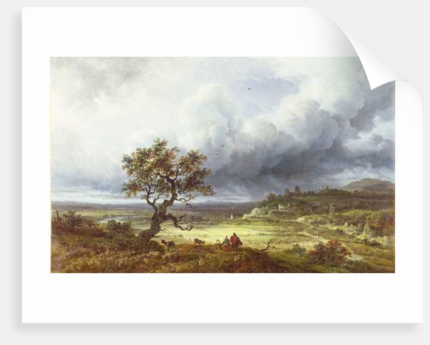 Countryside under a Stormy Sky by Georges Michel