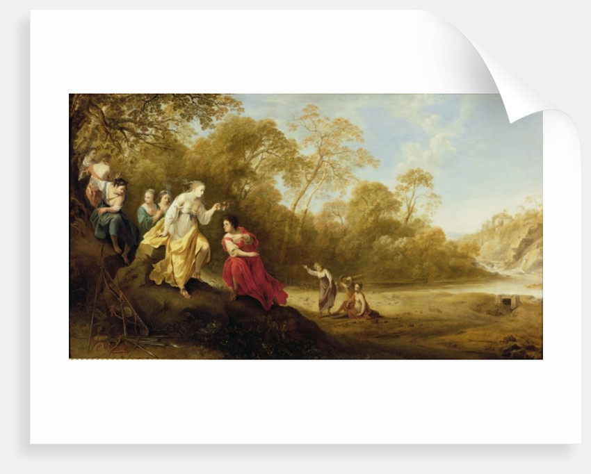 The Crowning of Mirtillo by Dirck van der Lisse