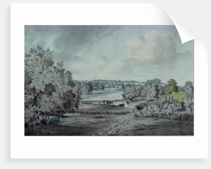 The Valley of the Stour, with Langham church in the distance by John Constable