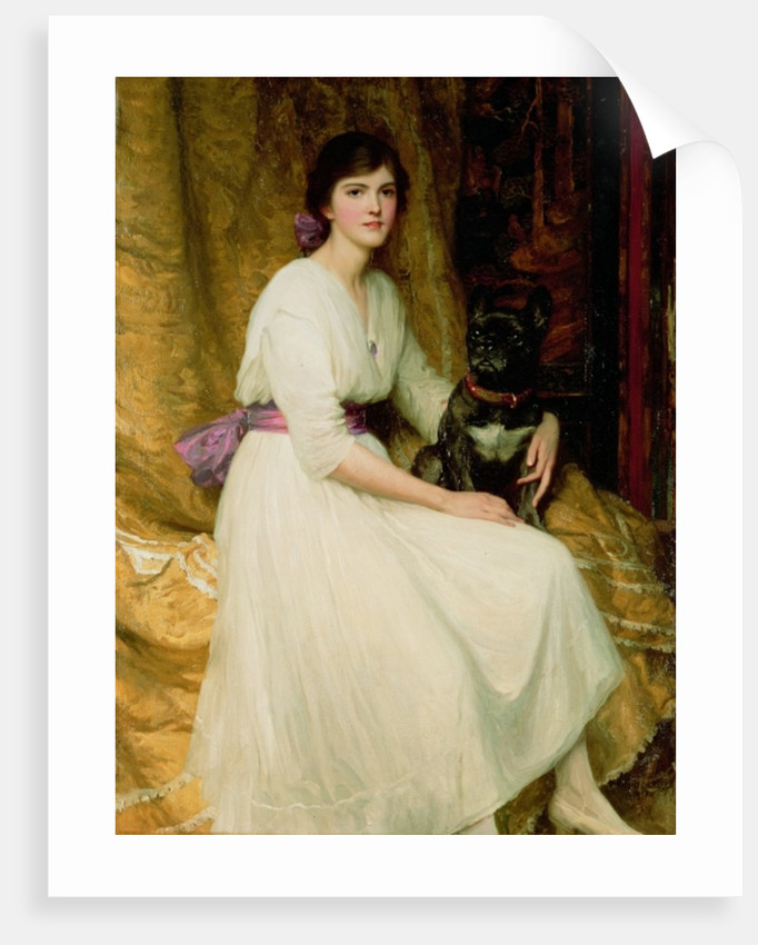 Portrait of Miss Dorothy Dicksee by Sir Frank Dicksee
