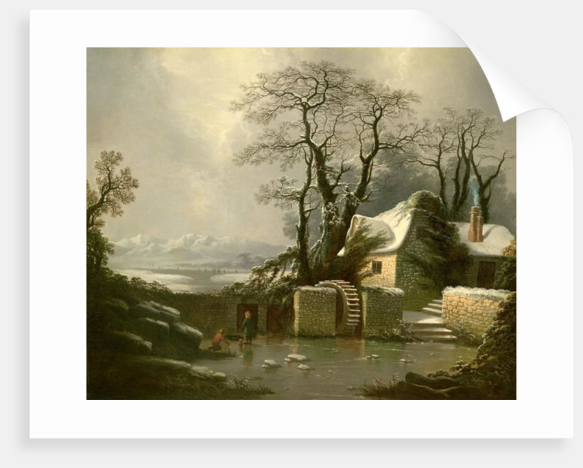 The Frozen Mill Race by George