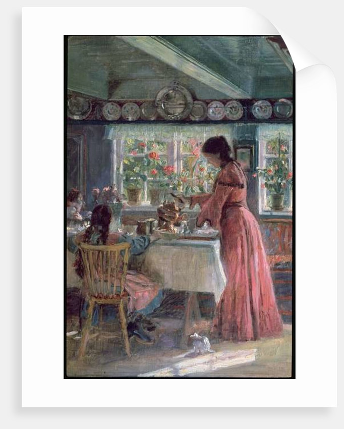 Pouring the Morning Coffee by Laurits Regner Tuxen