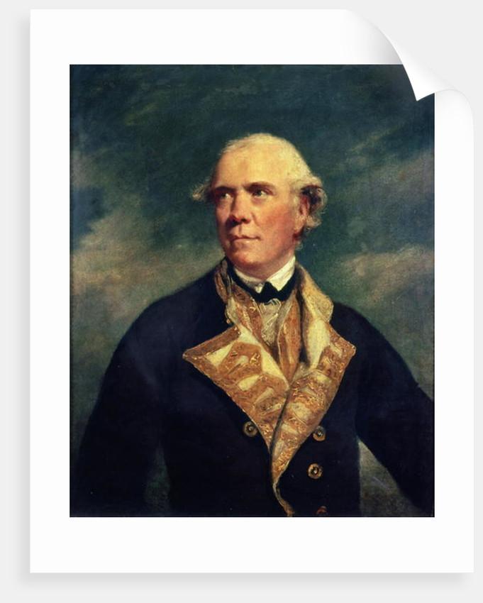 Admiral Barrington by Sir Joshua Reynolds