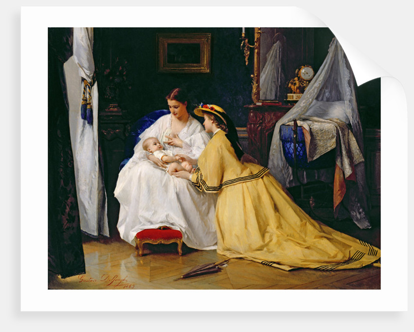 First Born by Gustave Leonard de Jonghe
