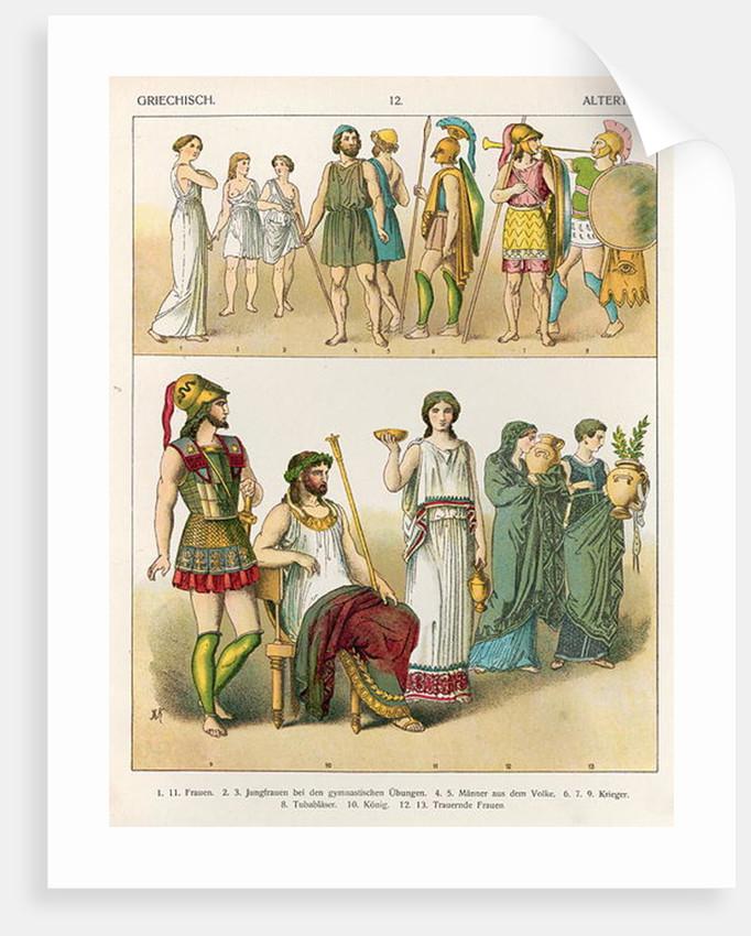 Greek Dress by Albert Kretschmer