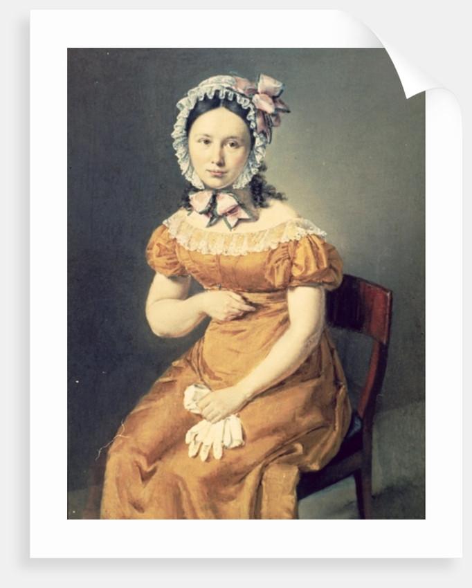 The artist's wife Catharine by Christian-Albrecht Jensen