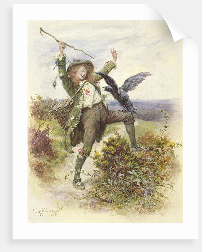 Barnaby Rudge and the Raven Grip by Frederick Barnard