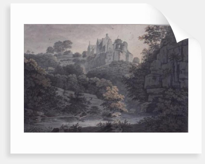 Hawthornden Castle near Edinburgh by James Bourne