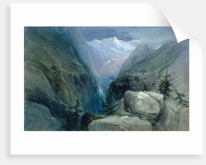 Mountain Landscape by Henry Bright