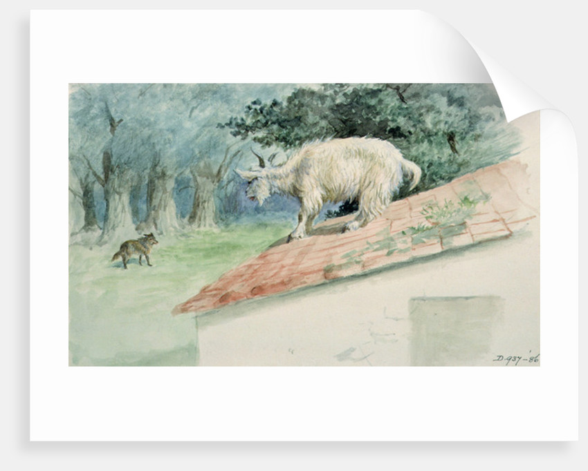 The Kid and the Wolf by Randolph Caldecott