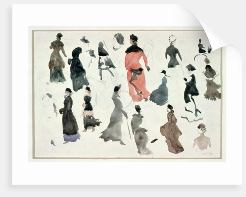 Brighton Ladies by Randolph Caldecott