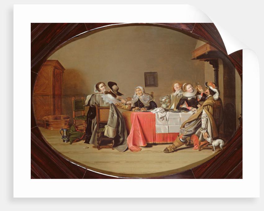 Gallant Company by Hendrick Gerritsz Pot