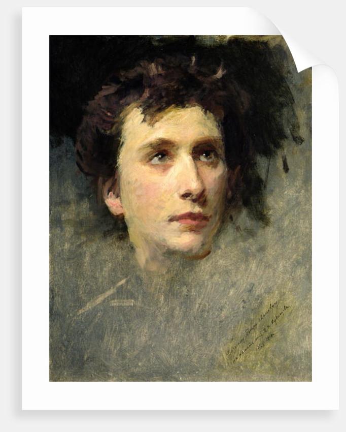 Portrait of the composer Pyotr Ilyich Tchaikovsky by Yury Jacovlevich Lehman