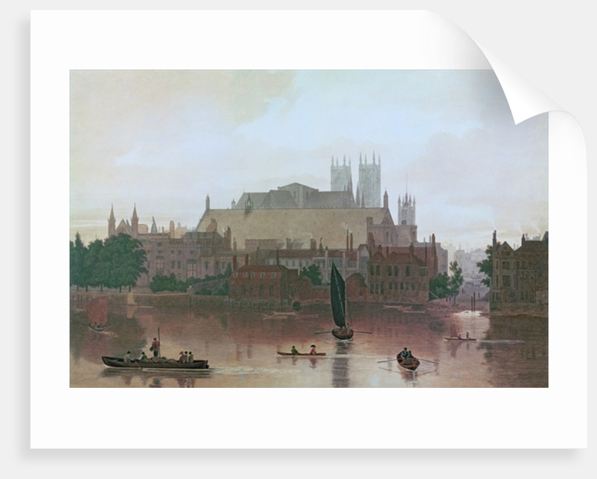 The Houses of Parliament by George Fennel Robson