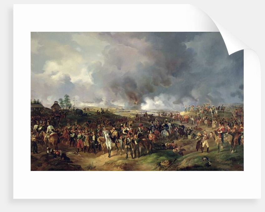The Battle of the Nations of Leipzig by Alexander Ivanovich Sauerweid