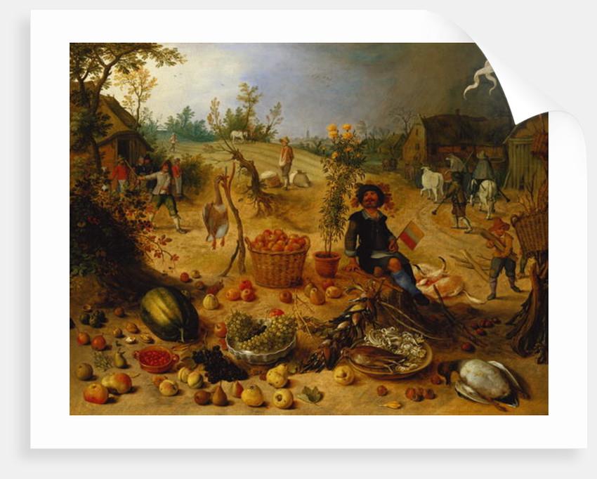 An Allegory of Autumn by Sebastian Vrancx