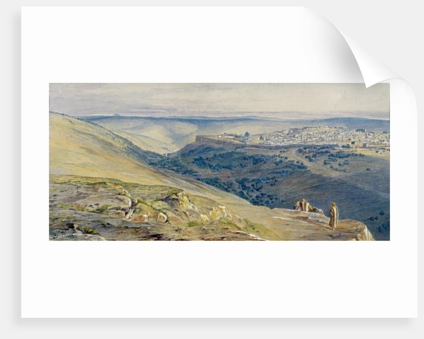 Jerusalem by Edward Lear