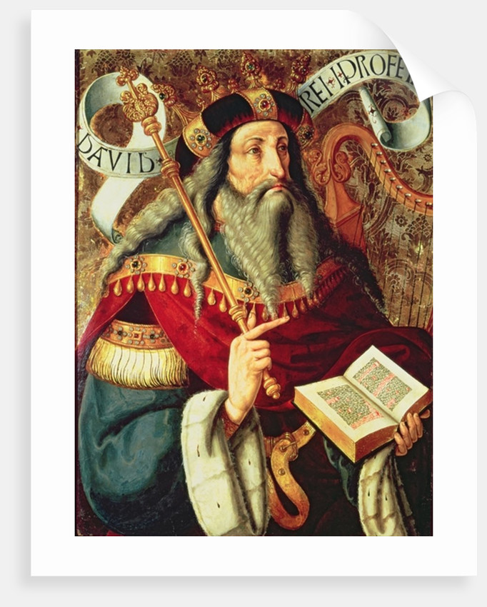 The Prophet David by Master of Riofrio