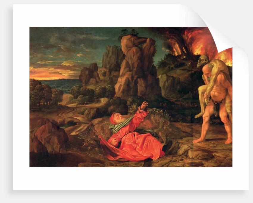 The Temptation of St. Anthony by Giovanni Girolamo Savoldo