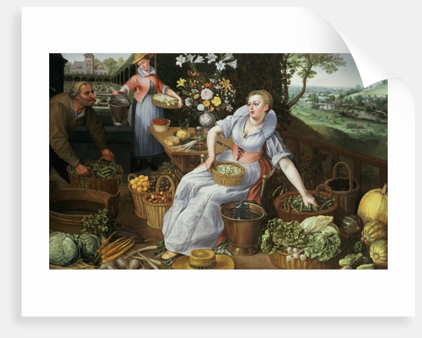 An Allegory of Summer by Lucas van Valckenborch