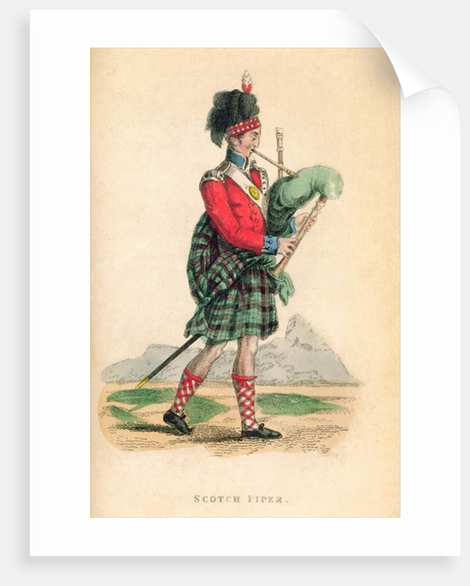 The Scotch Piper by Frederic Shoberl