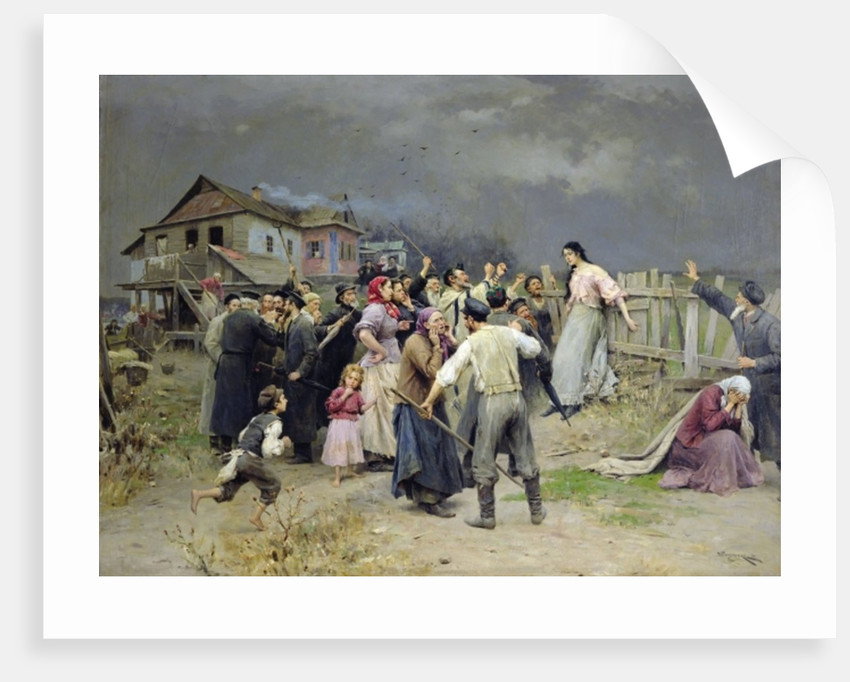 A victim of fanaticism by Nikolai Pimonenko