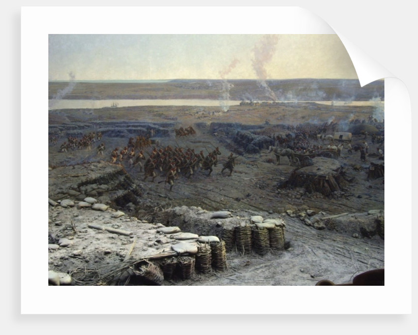 The Siege of Sevastopol Panorama by Franz Roubaud
