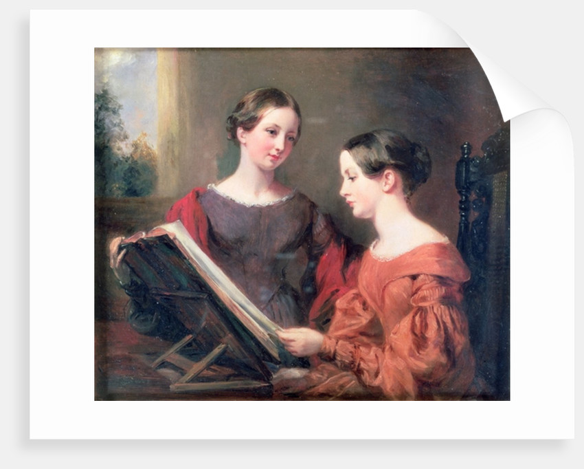 The Sisters by Margaret Sarah Carpenter