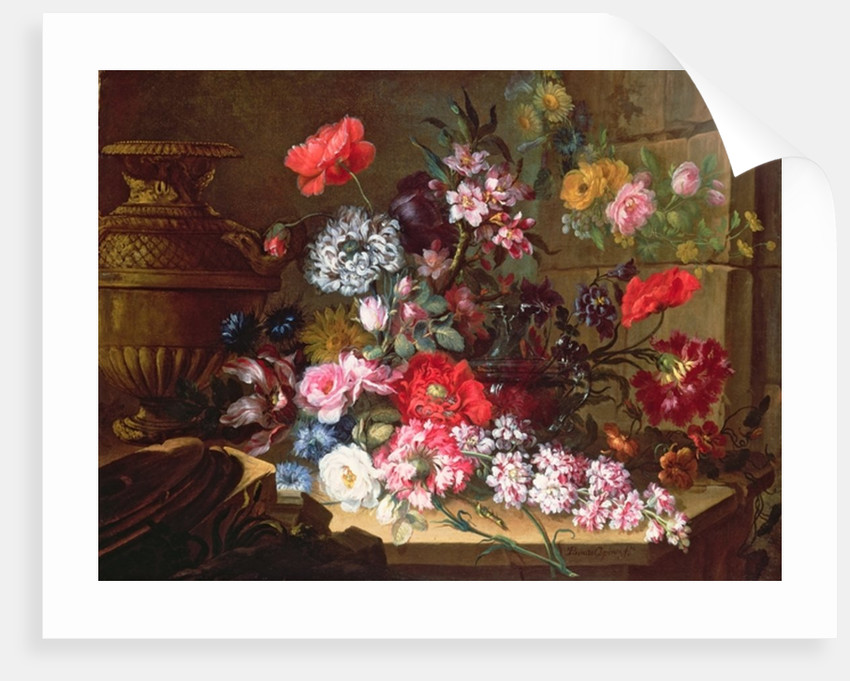 Still Life with Flowers by Benito Espinos