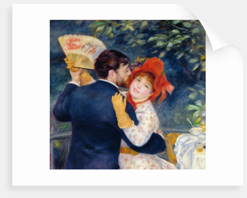 A Dance in the Country by Pierre Auguste Renoir