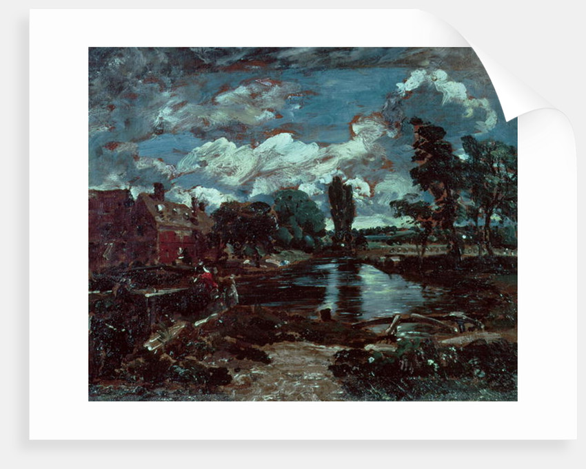 Flatford Mill from a Lock on the Stour by John Constable