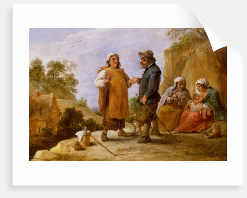 The Fortune Teller by David the Younger Teniers