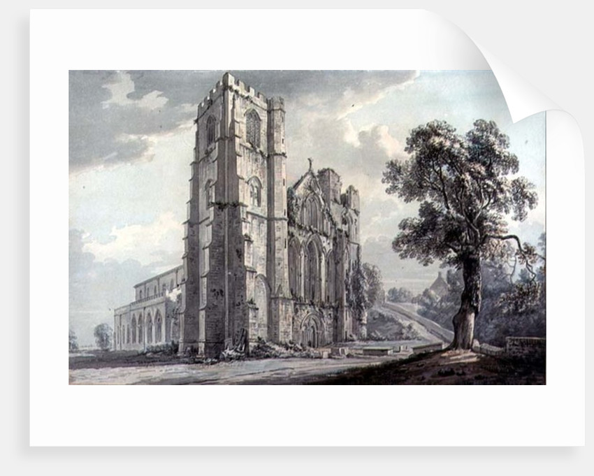 Llandaff Cathedral by Paul Sandby