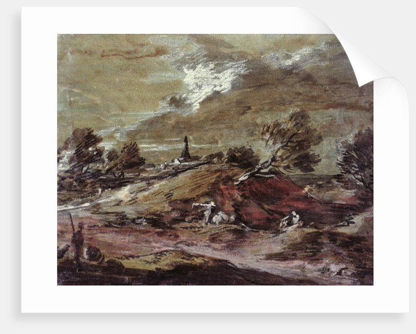 Landscape: Storm Effect by Thomas Gainsborough