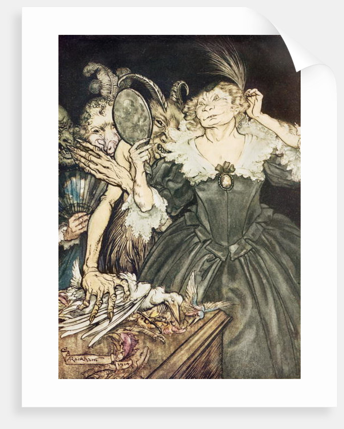 "Comus by John Milton: ""And they, so perfect is their misery"" by Arthur Rackham"