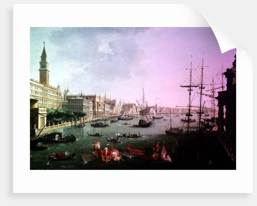 A View of the Grand Canal by Vincenzo Chilone
