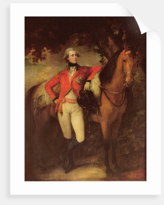 George IV, as Prince of Wales by Thomas Gainsborough
