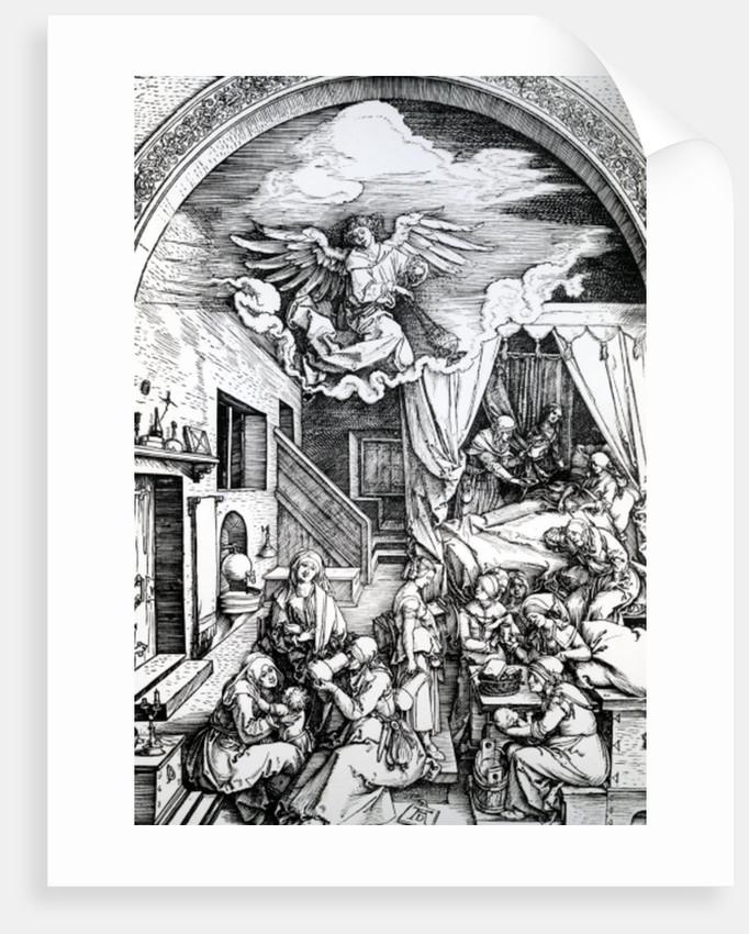 The Birth of the Virgin by Albrecht Dürer or Duerer