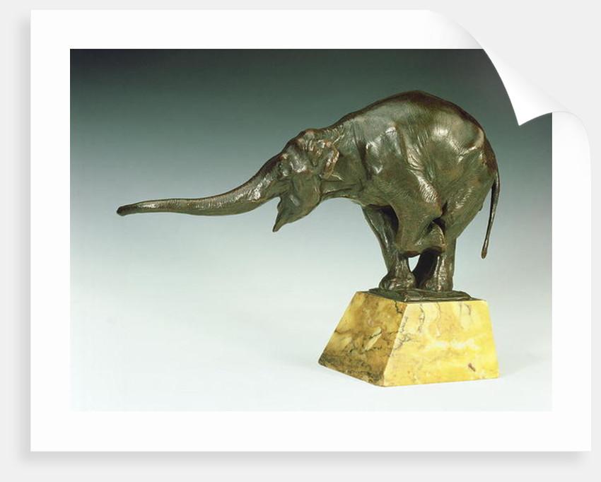 Begging Elephant by Rembrandt Bugatti