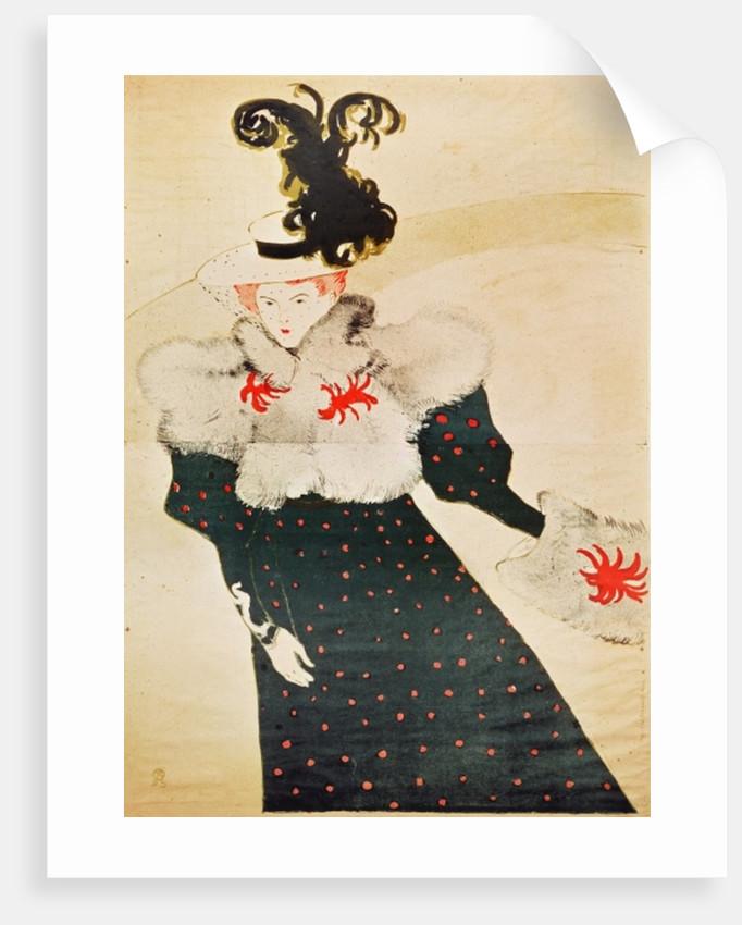 Poster advertising 'La Revue Blanche' by Henri de Toulouse-Lautrec