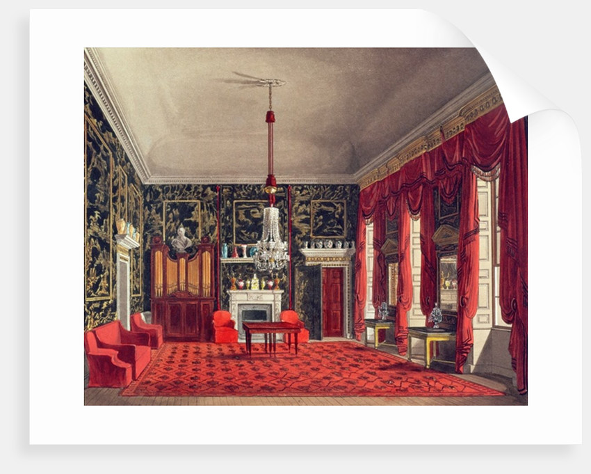 The Queen's Breakfast Room, Buckingham House by William Henry Pyne