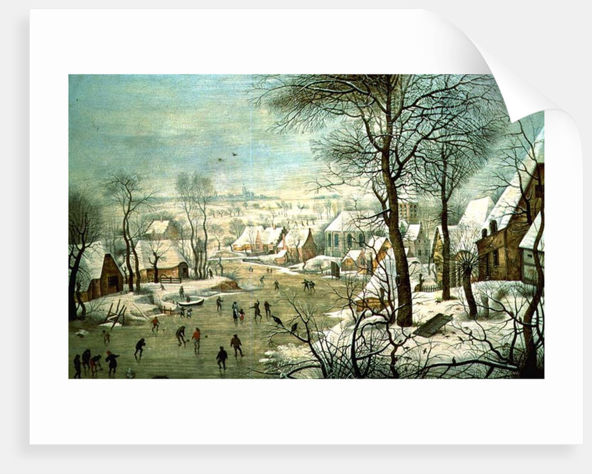 Winter Landscape by Pieter the Younger Brueghel