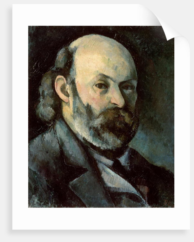 Self Portrait by Paul Cezanne