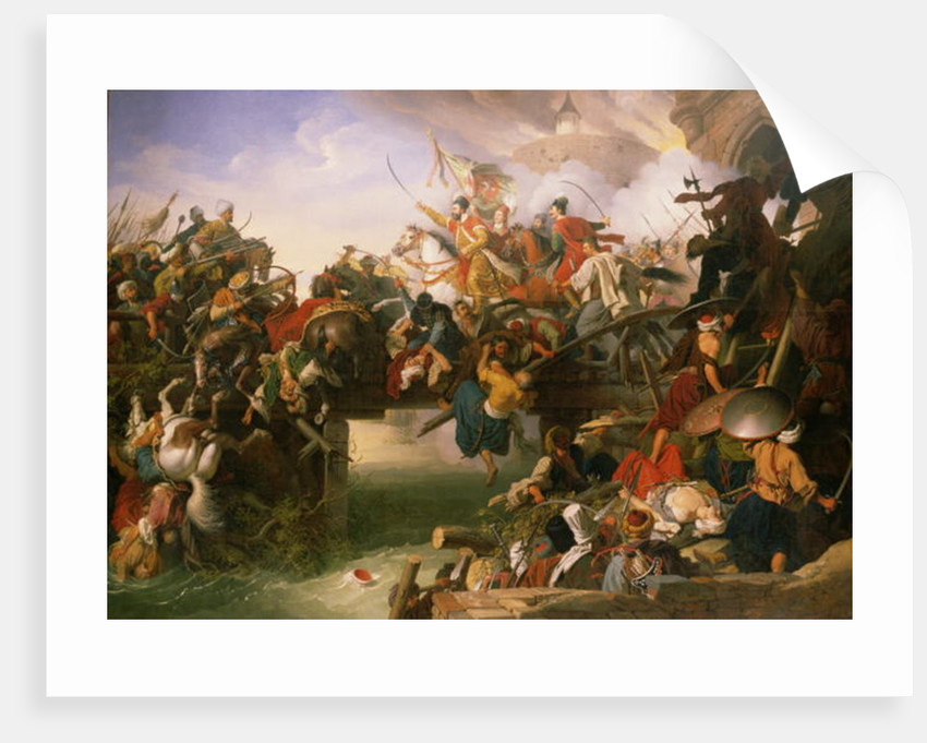 Zrinyi's Outburst by Johann Peter Krafft