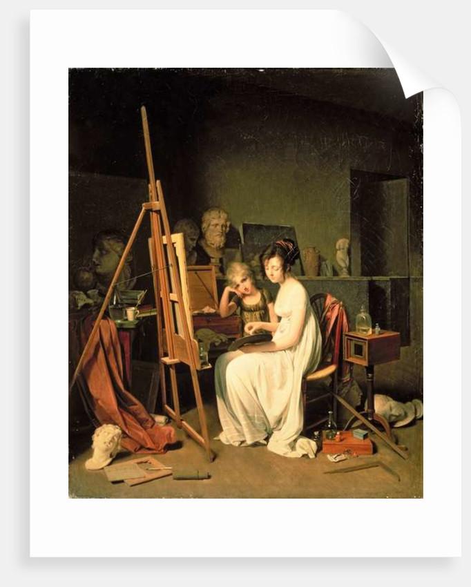 Artist's Studio by Louis Leopold Boilly