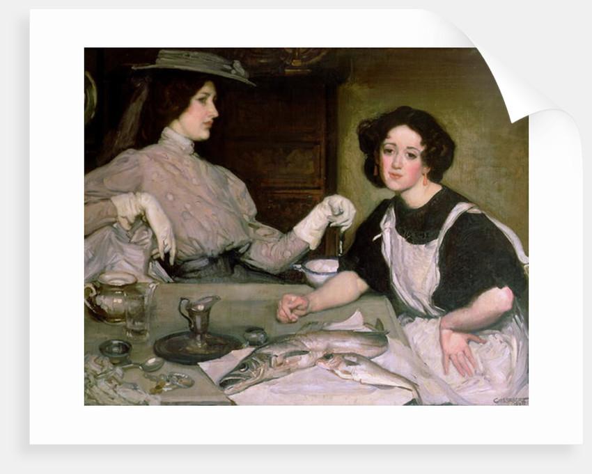 Lottie and the Lady by George Washington Lambert