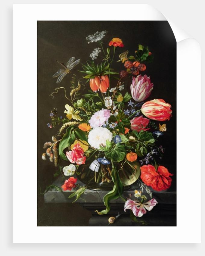 Still Life of Flowers by Jan Davidsz de Heem