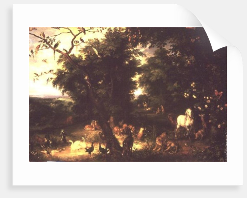 The Fall of Man by Jan the Elder Brueghel