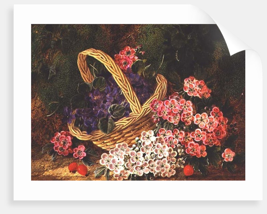 Basket of Flowers by George Clare